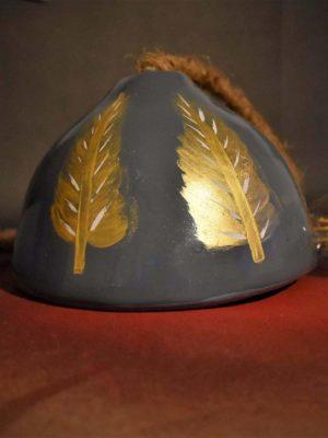 Golden Leafed Pendant Lamp