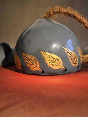 Golden Betel Leaf Pendant Lamp
