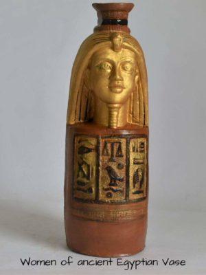 Egyptian themed Flower Vase