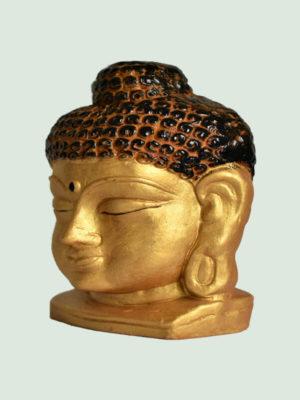 Eco-Friendly Gautama Buddha Face Statue