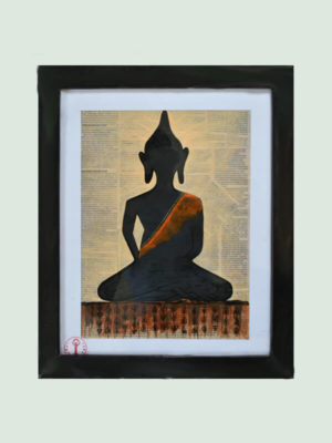 Meditating Buddha – Handmade Painting
