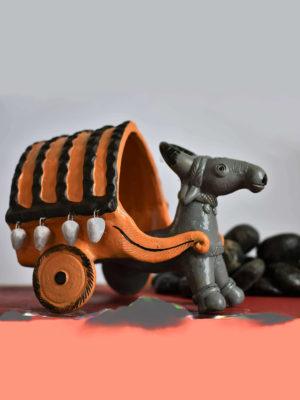 Bullock Cart – Handmade Art Piece