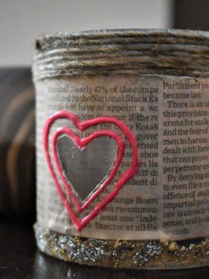Hearts window – Glass Chimney