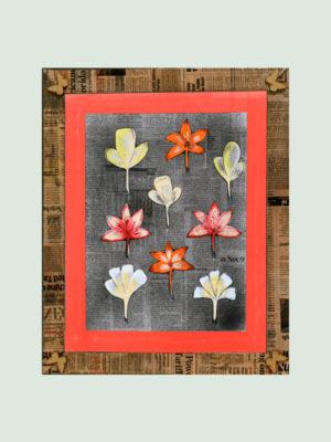 Colorful Jasmine Flowers -Handmade Paintings