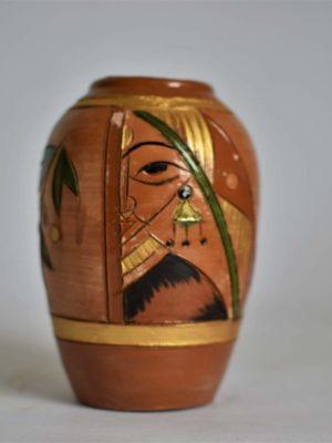 Women with a Bindi – Flower Vase