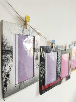 Hanging Paper Photo Frames