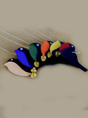 Colorful Hanging Cute Birds