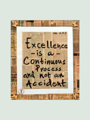 Excellence – Buddha Quote Poster