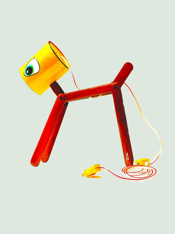 Dog shaped Table Lamp