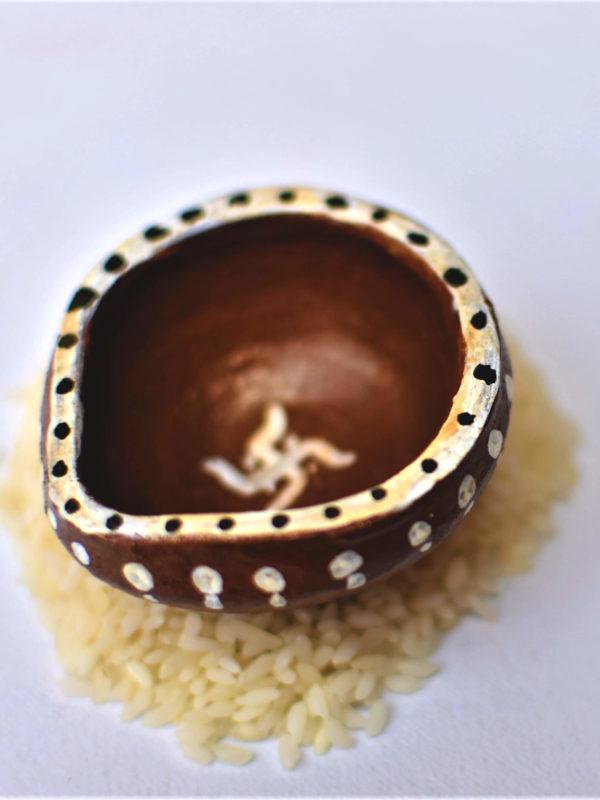 Eco-Friendly Diya for Diwali