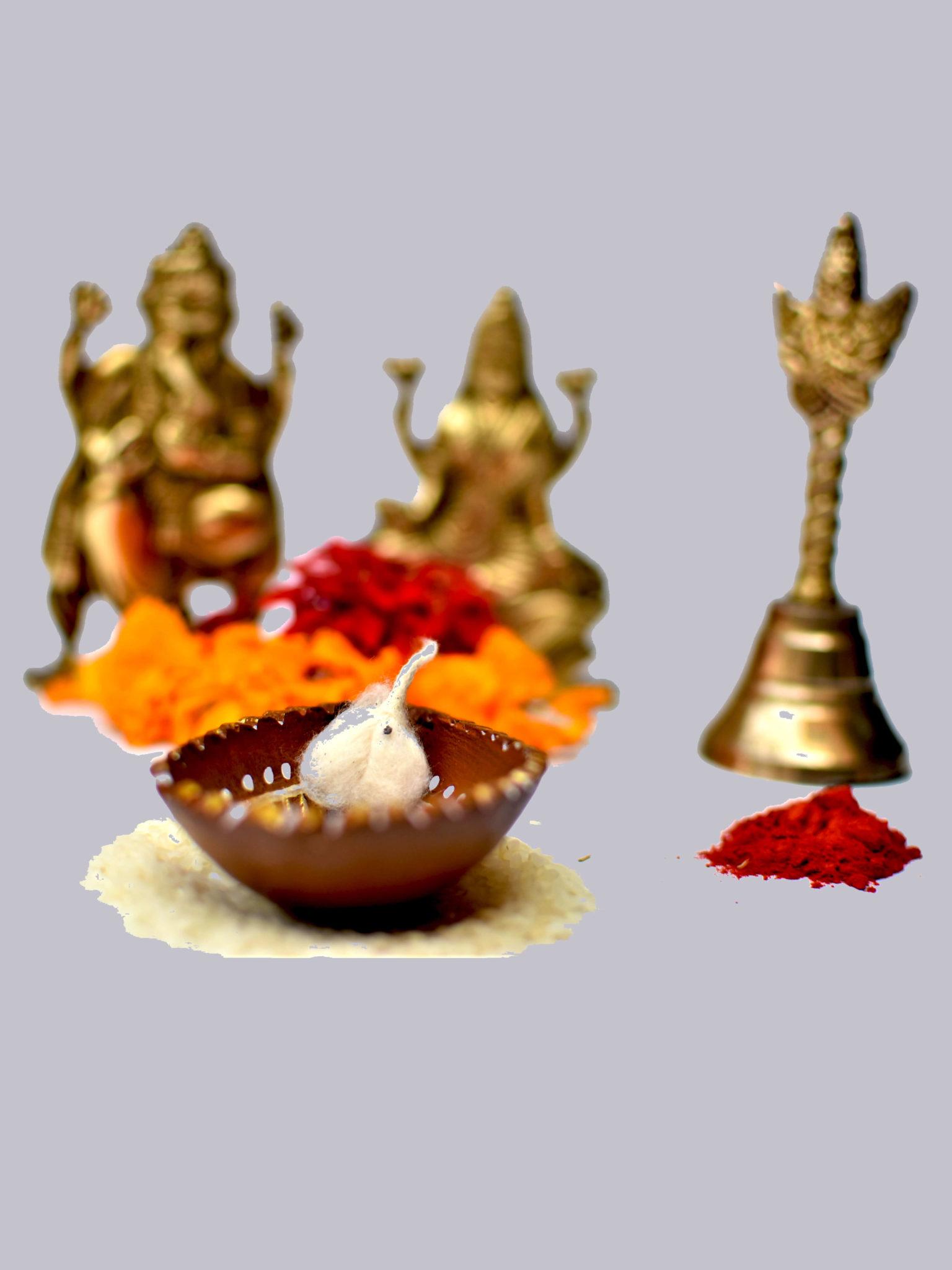 Droplet shaped Decorated Diya